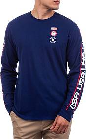 Hurley Men's Premium USA Long Sleeve T-Shirt product image