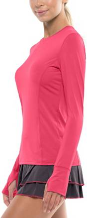 Lucky in Love Women's Long Sleeve Crew Tennis Top product image