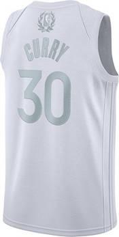 Nike Men's Golden State Warriors Stephen Curry #30 White MVP Dri-FIT Swingman Jersey product image