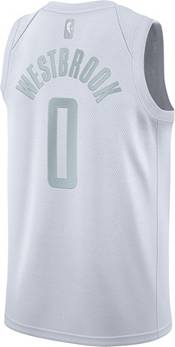 Nike Men's Houston Rockets Russell Westbrook #0 White MVP Dri-FIT Swingman Jersey product image