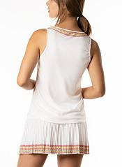Lucky In Love Women's Neon Border Y-Strap Tennis Tank Top product image