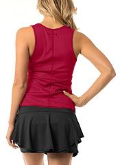 Lucky In Love Women's Ribbed Henley Tennis Tank product image