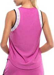 Lucky In Love Women's Wavy Chill Out Tennis Tank Top product image