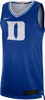 Nike Men's Duke Blue Devils #1 Duke Blue Limited 100 Year Anniversary Rivalry Basketball Jersey product image