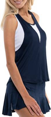 Lucky In Love Women's Play All Day Layer Tennis Tank Top product image