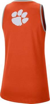 Nike Women's Clemson Tigers Orange Dri-FIT Tomboy Tank Top product image