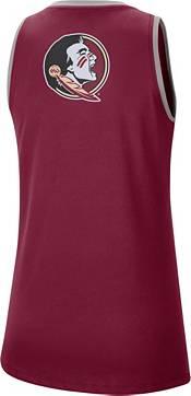 Nike Women's Florida State Seminoles Garnet Dri-FIT Tomboy Tank Top product image