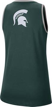 Nike Women's Michigan State Spartans Green Dri-FIT Tomboy Tank Top product image