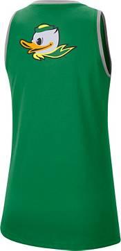 Nike Women's Oregon Ducks Green Dri-FIT Tomboy Tank Top product image