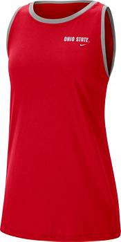 Nike Women's Ohio State Buckeyes Scarlet Dri-FIT Tomboy Tank Top product image