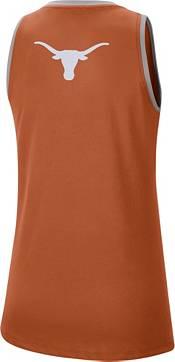 Nike Women's Texas Longhorns Burnt Orange Dri-FIT Tomboy Tank Top product image