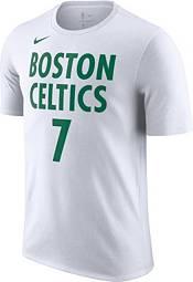 Nike Men's 2020-21 City Edition Boston Celtics Jaylen Brown #7 Cotton T-Shirt product image