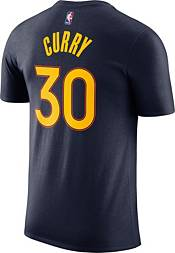 Nike Men's 2020-21 City Edition Golden State Warriors Stephen Curry #30 Cotton T-Shirt product image