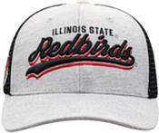 Top of the World Men's Illinois State Redbirds Grey/Black Cutter Adjustable Hat product image