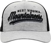 Top of the World Men's West Virginia Mountaineers Grey/Black Cutter Adjustable Hat product image