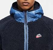 Nike Men's Sportswear Sherpa Full Zip Hooded Jacket product image