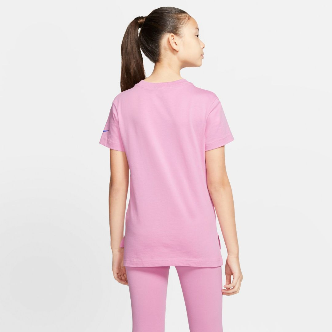 stable quality catch fresh styles Nike Sportswear Girls' Swoosh Markmash Droptail Tee