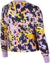 Nike Girls' Sportswear Graphic Cropped Crew Sweatshirt product image