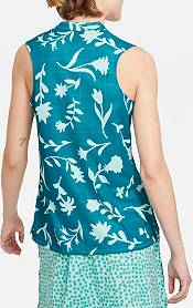 Nike Women's Victory Floral Print Sleeveless Golf Polo product image