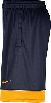Nike Men's West Virginia Mountaineers Blue Dri-FIT Basketball Shorts product image