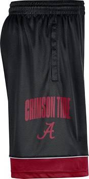Nike Men's Alabama Crimson Tide Black Dri-FIT Basketball Shorts product image