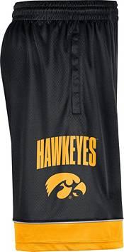 Nike Men's Iowa Hawkeyes Black Dri-FIT Basketball Shorts product image
