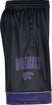 Nike Men's Kansas State Wildcats Black Dri-FIT Basketball Shorts product image