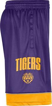 Nike Men's LSU Tigers Purple Dri-FIT Basketball Shorts product image