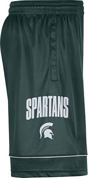 Nike Men's Michigan State Spartans Green Dri-FIT Basketball Shorts product image