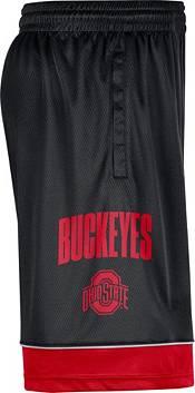 Nike Men's Ohio State Buckeyes Black Dri-FIT Basketball Shorts product image