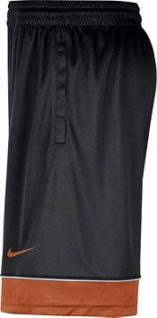 Nike Men's Texas Longhorns Black Dri-FIT Basketball Shorts product image
