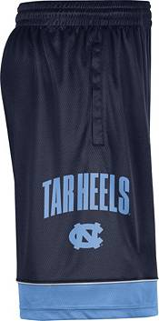 Jordan Men's North Carolina Tar Heels Navy Dri-FIT Basketball Shorts product image