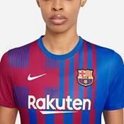 Nike Women's FC Barcelona '21 Breathe Stadium Home Replica Jersey product image