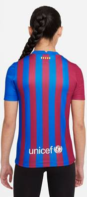 Nike Youth FC Barcelona '21 Breathe Stadium Home Replica Jersey product image