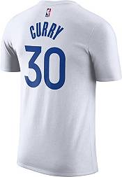 Nike Men's Golden State Warriors Stephen Curry #30 Dri-FIT White T-Shirt product image