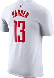 Nike Men's Houston Rockets James Harden #13 Dri-FIT White T-Shirt product image