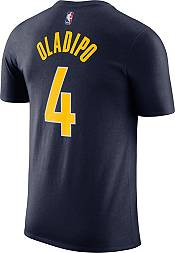 Nike Men's Indiana Pacers Victor Oladipo #4 Navy Cotton T-Shirt product image