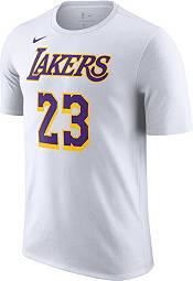 Nike Men's Los Angeles Lakers LeBron James #23 Dri-FIT White T-Shirt product image