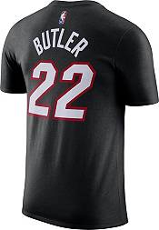 Nike Men's Miami Heat Jimmy Butler #22 Cotton Black T-Shirt product image
