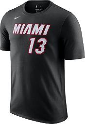 Nike Men's Miami Heat Bam Adebayo #13 Black T-Shirt product image