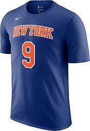 Nike Men's New York Knicks RJ Barrett #9 Blue Cotton T-Shirt product image