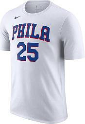 Nike Men's Philadelphia 76ers Ben Simmons #25 White T-Shirt product image