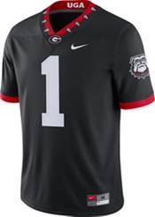 Nike Men's Georgia Bulldogs #1 '100th Anniversary' Game Football Black Jersey product image
