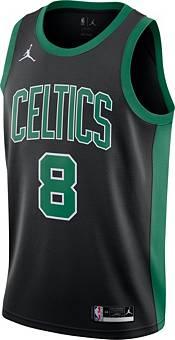 Jordan Men's Boston Celtics Kemba Walker #8 2020-21 Dri-FIT Statement Swingman Black Jersey product image