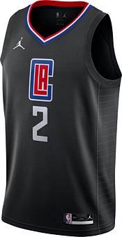 Jordan Men's Los Angeles Clippers Kawhi Leonard #2 2020-21 Dri-FIT Statement Swingman Black Jersey product image