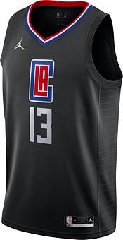 Jordan Men's Los Angeles Clippers Paul George #13 2020-21 Dri-FIT Statement Swingman Black Jersey product image