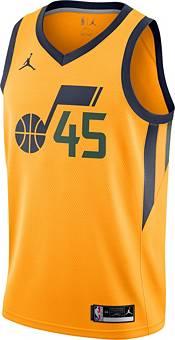 Jordan Men's Utah Jazz Donovan Mitchell #45 Gold 2020-21 Dri-FIT Statement Swingman Jersey product image