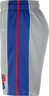 Jordan Men's Detroit Pistons Grey Dri-FIT Statement Swingman Shorts product image
