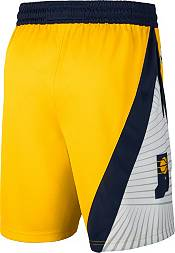 Jordan Men's Indiana Pacers Gold Dri-FIT Statement Swingman Shorts product image