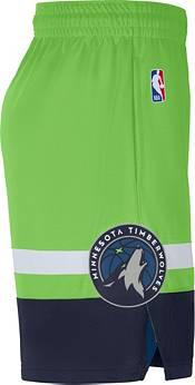 Jordan Men's Minnesota Timberwolves Green Dri-FIT Statement Swingman Shorts product image
